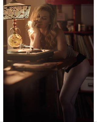 portrait editorial model cinematic vinyl actor actress nopants environmental tpccloseup beauty losangelesphotographer topphotographer