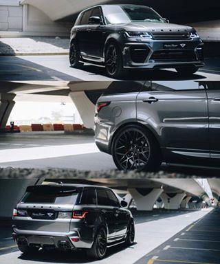 blacklist airwerks urbanautomotive landrover rangerover arabcars dubaicars rangeroversport cargram luxury customcars