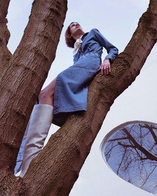 mangonewvoices campaign denimcampaign editorialphotography cheyennedekeyser fashionphotography