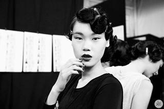 fashion runwaymodel mercedezbenzfashionweek model asian runway blackandwhite newyork portrait photographylovers fashionphotography fashionweek photography zangtoi