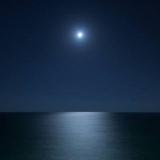travel landscape moon night ocean perfect sea travelphotography