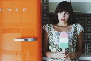 homestories portrait kitchenstories conceptual kitchen vogue photovogue photography orange spitishoot fashionstory fashion