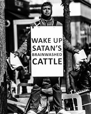 desaturated cattle blackandwhite liverpoolcitycentre brainwashed satan street liverpool canon canon70d clarity protest film sunny god new contrast