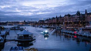cinematography citylights harbour instacity northeurope photography picoftheday scandinavia sky spot stockholm sweden