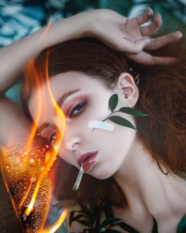 handcutcollage dramaticportrait natashaderzai beautyportrait