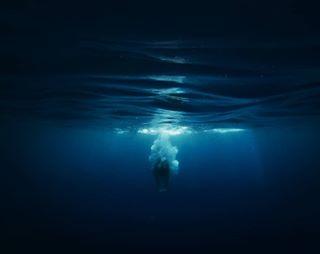 deep beauty light girl blue gopro water underwater sea