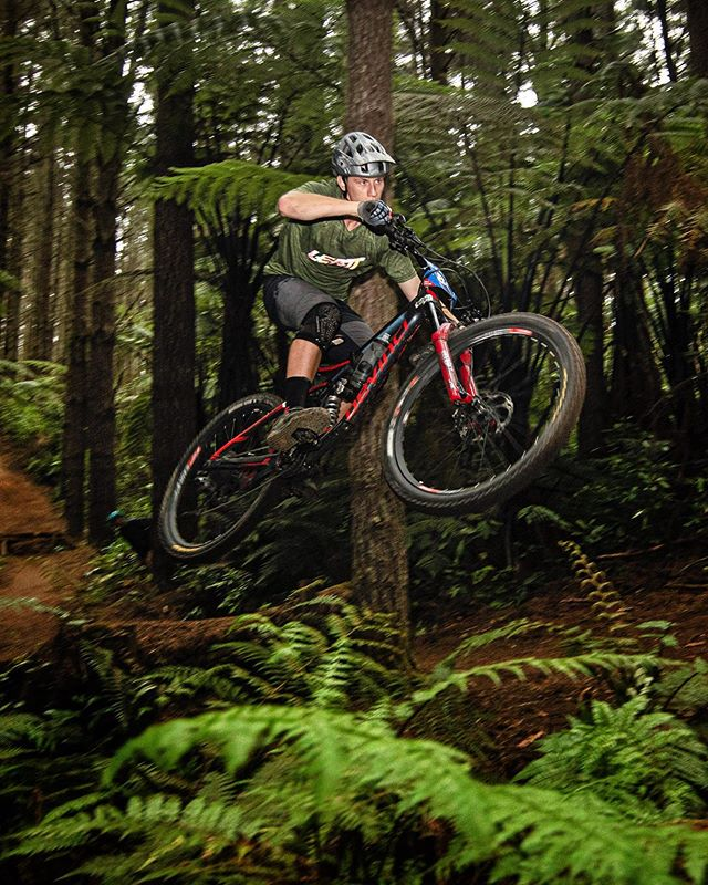forest shooting bike
