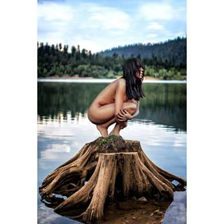 nude nikon gorskikotar lake nikonhrvatska model stump croatiafulloflife croatia modeling