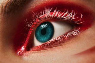 closeup beauty sex sapphire taxes fashion makeup eyes czechgirl death model