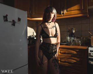 art color light model nude photographer poland sexy tattoo vogueitalia warsaw