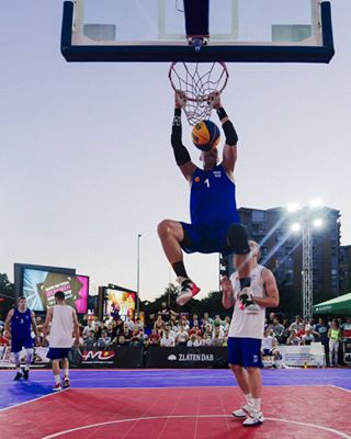 streetbasket basket dunk action ballislife competition fun streetball outdoor 3x3 player skopjecitymall motivation 3x3europe city ball game skopje fiba3x3 basketball 3x3satelliteskopje2k19 score team macedonia spacejam sport 3x3macedonia play street court