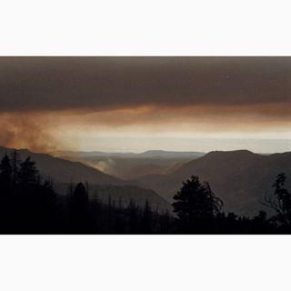 35mm california californiafires clouds film filmisnotdead filmphotography fire ishootfilm kodak lofi photography sun sureal usa yasica yosemite yosemitefire