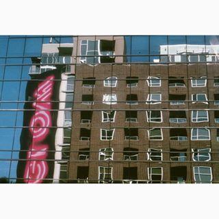 35mm architektur california film filmisnotdead filmphotography ishootfilm kodak la leica liquid photography refelxion usa