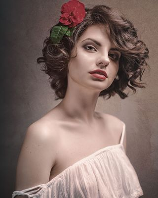 honor art beauty dtolokonov light female retro classic stylish medieval portrait dramatic noble femaleportrait sensual european dress paint heritage mood photographer fashionable photo