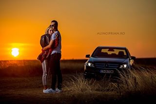 highspeedsync greatmodel canonphotography session canonlenses sunset godoxad600 mercedesbenz car canon5dmarkiii profesionalphotographer focuslight alinciprian profesionalphotography light