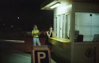 analog croatia girls kodakcolorplus200 medulin night parking streetphotography zone