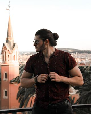 abstract architecture barcelona beard denvernails fashion gaudi hair highfashionhair love manbun manbunmonday mood nature park parkguel parkguellbarcelona photo photography spain summer travel trip tuesdaymood tuesdaytip tuesdayvibes vacation