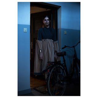dress editorial fashion fashionphotography feelingblue light makeportrait model oldcity photography polishmodel style warsaw