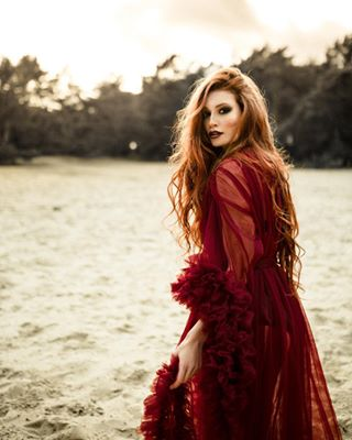sand pictureoftheday wandering couture outdoor sundown theportraitpr0ject freckles photographysouls gntm redhair model ig_muse redhead dress portraitinspiration featurepalette ginger expofilm photoshoot reddress nature marvelous_shots