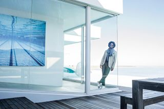 architecture campdavid capetown fashion formal glass hendrix location pool sea shooting summerinwinter