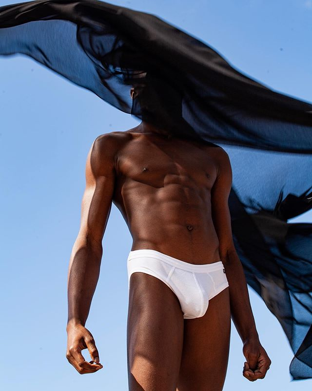 tyrabanks men melaninmen nature skin beautiful photooftheday vogue gay underwearmodel body melanin model afro blackmen modelfashion afroboy beyonce face boy gayhot inspiration instagram fit sky fashion picoftheday