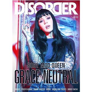 tatooartist disordermagazine graceneutral celebrityportrait