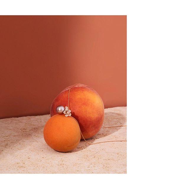 setstyling neckless jewelry stilllife calissi peach paulkusserow peaches🍑