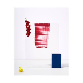 stilllife colour minimal red paint