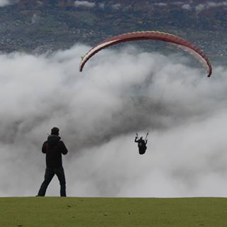 paragliding clouds parapente movember lacdannecy picoftheweek lake moustache picture