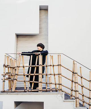 dancer ys_photography harajuku japan leicacamera dancephotography geometry bamboo tokyo portraitphotography architecture ys_dance