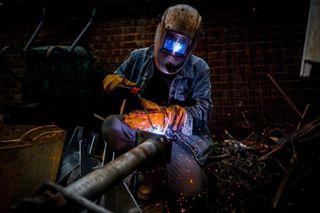 builder photojournalism trade welding