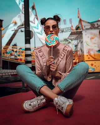 howyoudoin fair pipoblouse lollypop rainbow yesiam lick photograph