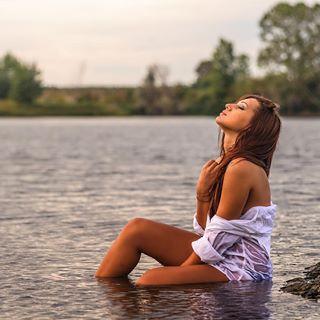 river water mermaid portrait
