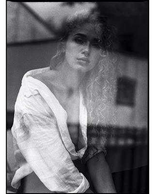 filmisnotdead blackandwhite redhead bestfilmphoto throwback portrait powerwoman freckles photography mediumformat