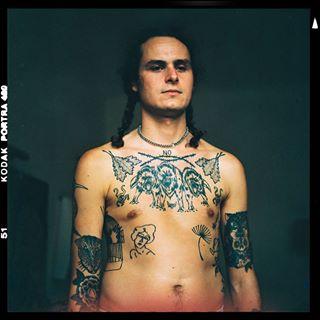 analog analogphotography chesttattoo kodarportra middleformat painter portraitphotography punkmetal tattooer terkatetris tttism