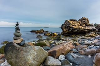 10stopndfilter atlanticocean canonshooter cliffs cliffwalknewportri longexposure motionblur newportri rocks usa velvetlikeocean wideangellens
