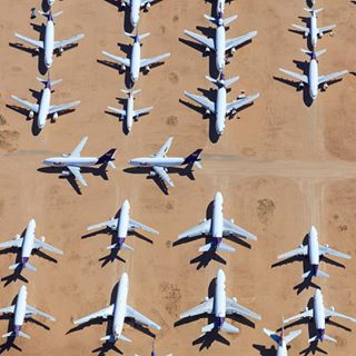 victorville boneyard fedex aerialnews