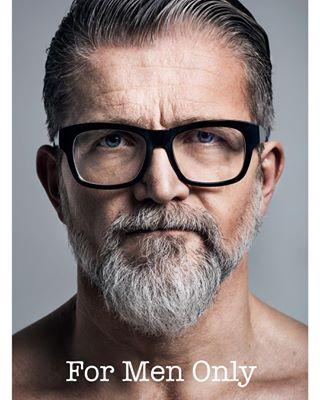 newportraits formenonly mustangdenim bearded