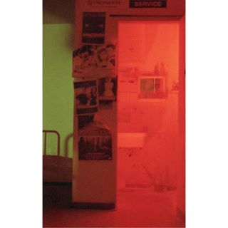 open analog film photography color sexuality place special bathroom light red to service