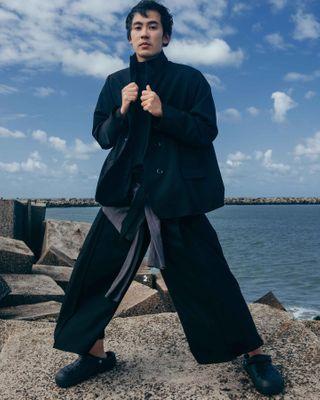 amsterdam bluesky sea fotograaf denyaag fashionphotography geanlin identity