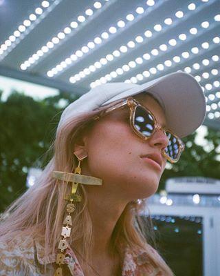 fashionphotography wonderwheel sunrise fashion kodak funfair fashionphotographer photographer onset sunset editorial shooting sandramansour argentique yashica darris