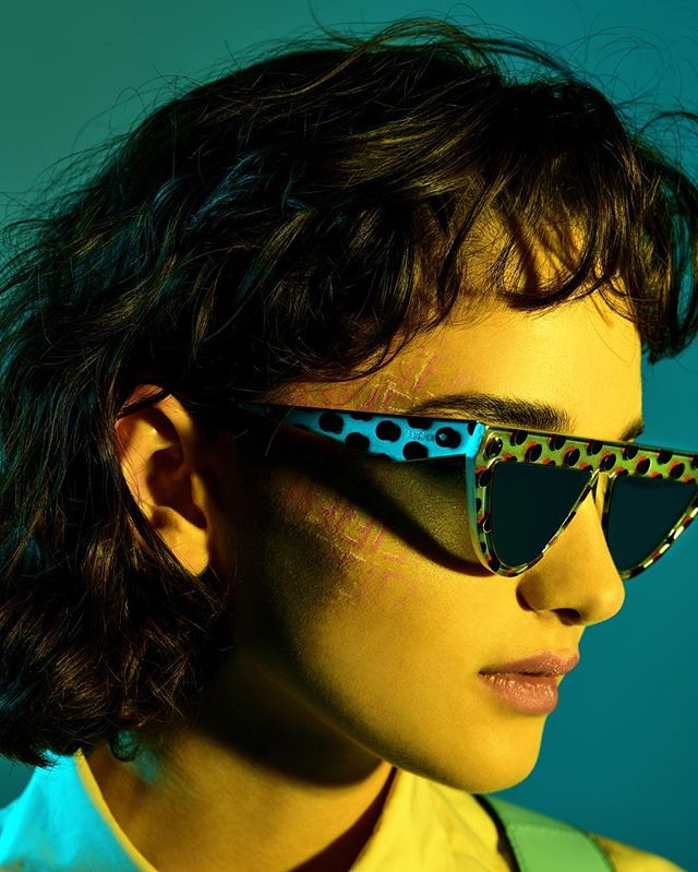 italy milan portrait pic fashiondiaries camera lights rome fashionphotographer cool makeup model photography sunglasses beauty igers potd studio fendiss19 fashion fashionphotography accessories models art cute fendi simonelatorretta picture digitalart photographer
