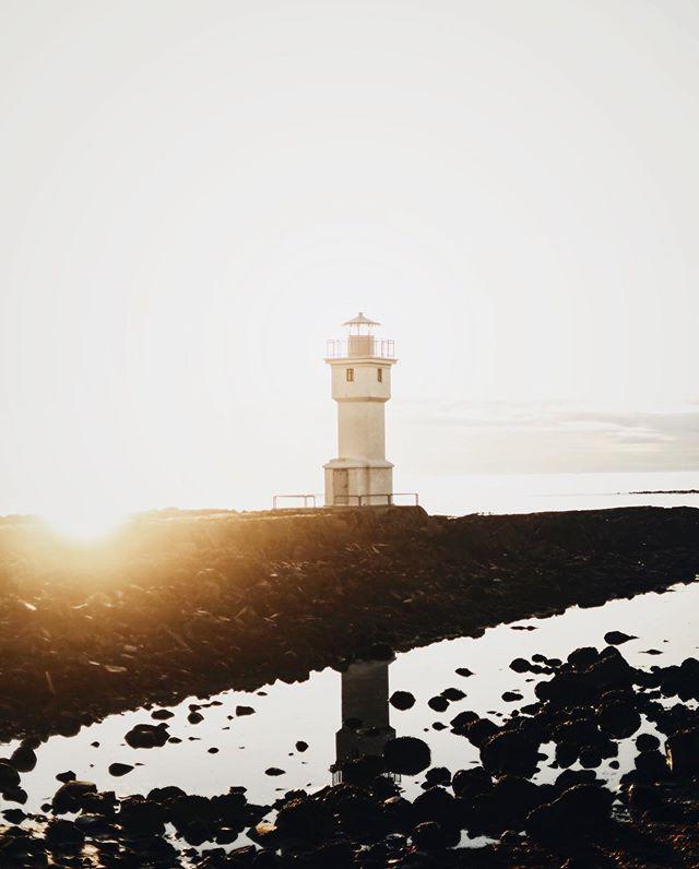 lighthouse akraneslighthouse iceland vsco akranesviti vscocam vscoedit icelandroadtrip 5dmarkiv canonnordic sunrise_sunset_photogroup