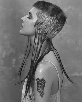 bha2018 altmodel girlswithtattoos fashionpost portraitphotography britishhairdressingawards vscocam blackandwhite portraiture monochrome beauty bnwmood hypebeast outfitoftheday vscoportrait bnw_life instastyle bleachmyfilm fblogger bnw_demand hairtrends