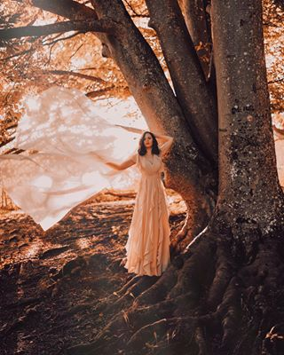 photography autumn fineart canon sigmaart thefountain singer nature dress art artist photoshoot movie magical fairytale quotes postproduction tree fineartphotography model
