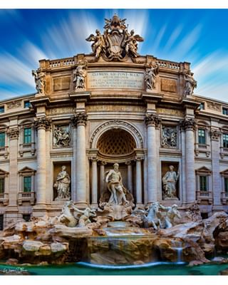 sculpture long_exposure fountain famous city summer sky visit_italy trip day architecture holiday statue outdoors canon building history culture