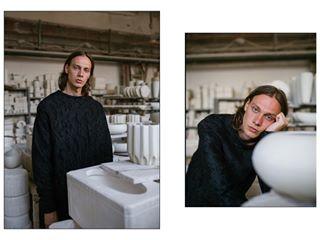 editorial hungary photooftheday manufacture menstyle pottery highfashion ighungary neutral model menfashion fashion budapest designer