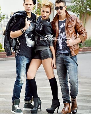 leather denim streetstyle jeans photography georgedimopoulos youth street fashion photo urban culture editorial fashionphotographer style