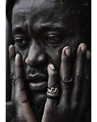portrait man pb reggae bw photography
