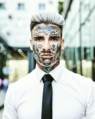 facetattoo tattoo photography stockphotography picoftheday w61photographer westend61 realstock lifechanging